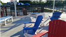 Kiddie Pool Chairs in Seating Area