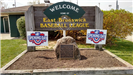 East Brunswick Baseball League Sign