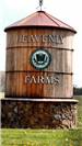 Heavenly Farms Tower Sign