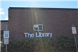 The Library Exterior Sign