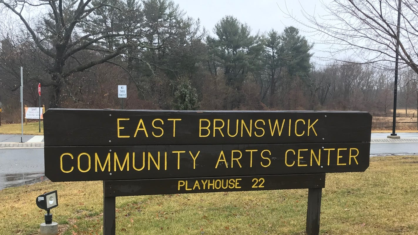 Photo of the EB Community Arts Center Sign and Playhouse 22