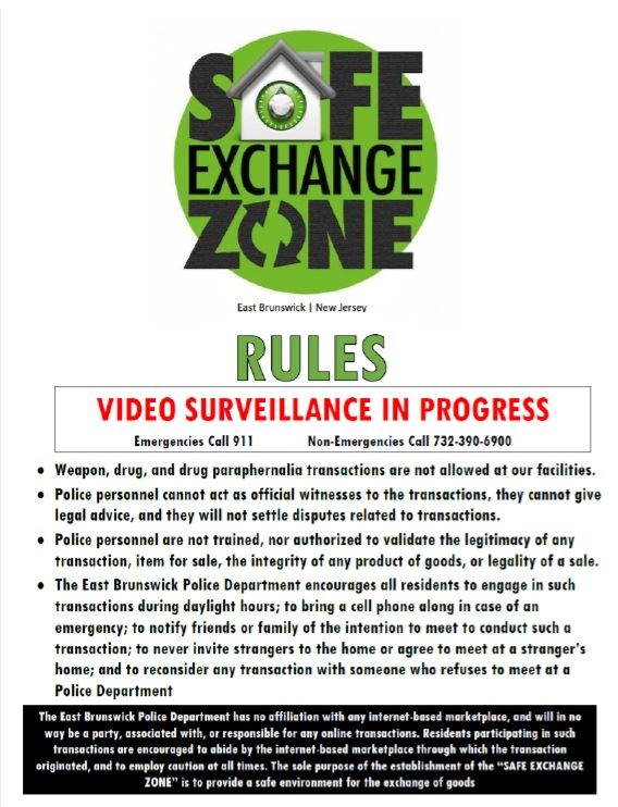 Safe Exchange Zone Rules
